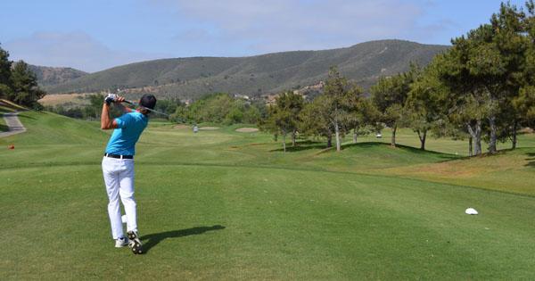 wisatawan golf