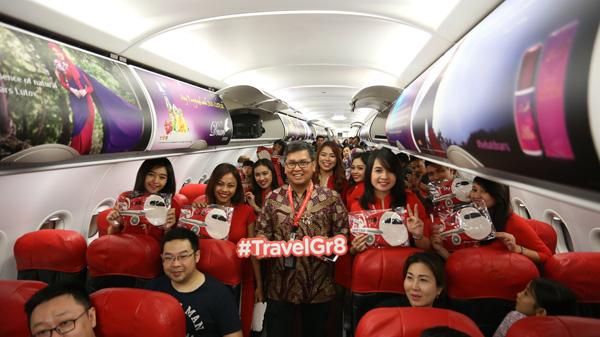 AirAsia Resmikan Penerbangan Jakarta - Johor Bahru (1)