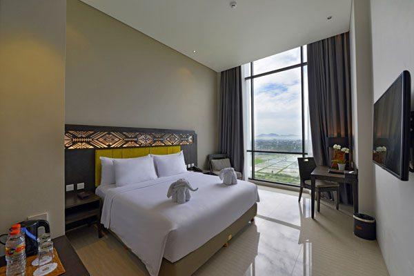 Deluxe Room dengan view Gunung dan Sawah