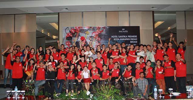 perayaan ulang tahun Hotel Santika Premiere Kota Harapan Indah Bekasi