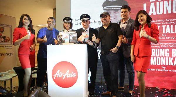 AirAsia Luncurkan Buku Karya Kapten Pilot AirAsia - Vakansi.Co