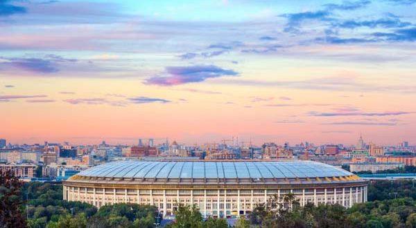 Stadion Luzhniki - Moscow, Rusia