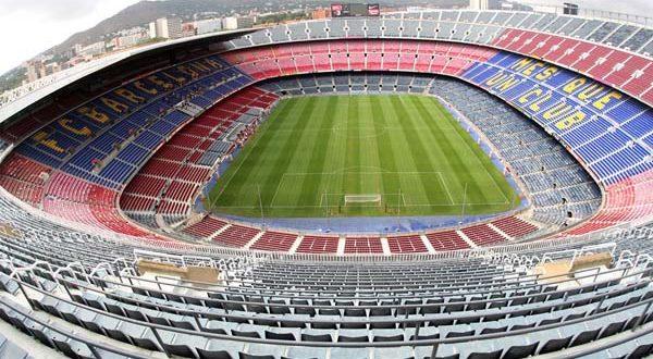 Camp Nou - Barcelona, Spanyol (Pinterest)