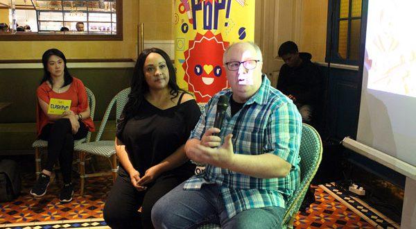 Temu Media POPCON Asia 2018_Karan Ashley & David J. Fielding_01