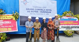 Topping Off Grand Cordela AS Putra Kuningan Jabar